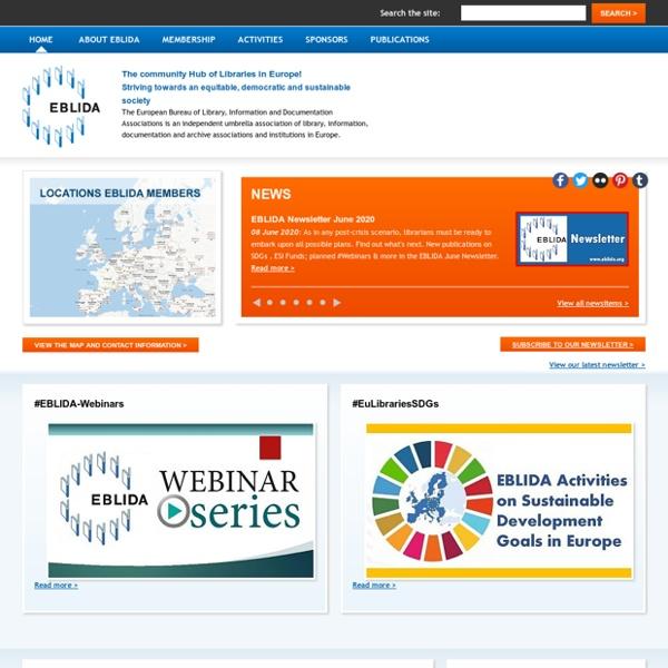 Home - European Bureau of Library Information and Documentation Associations (EBLIDA)