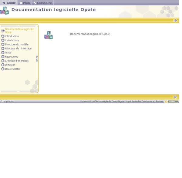 Documentation logicielle Opale
