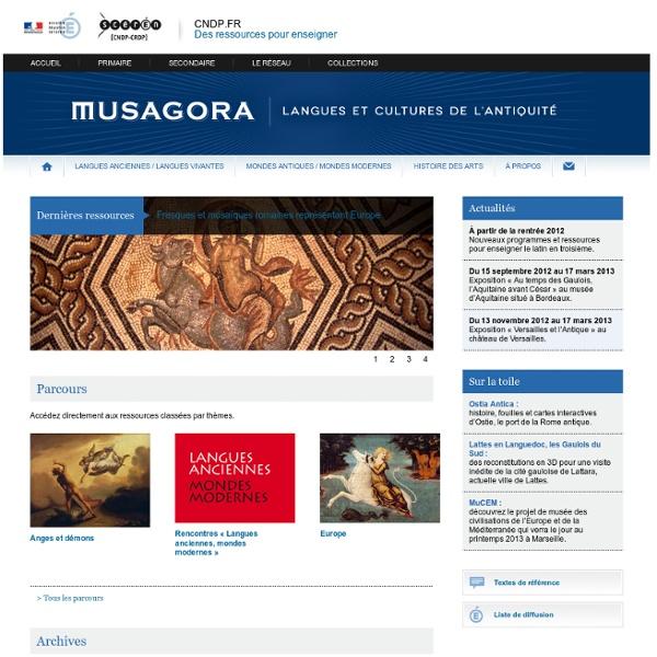 Musagora-Centre National de Documentation Pédagogique