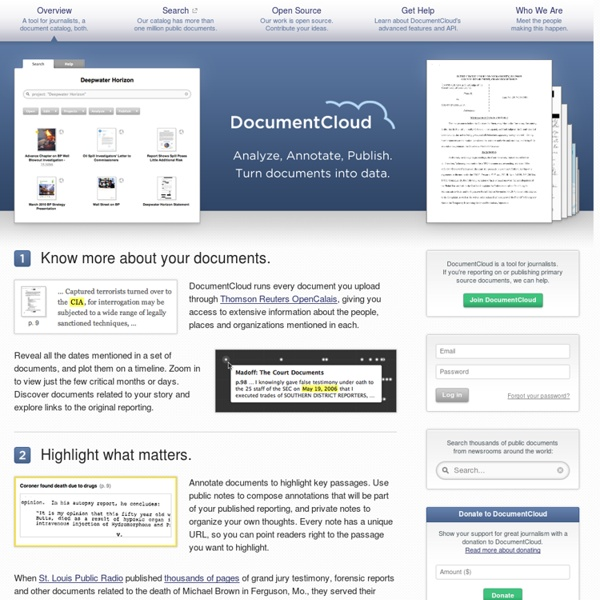 DocumentCloud