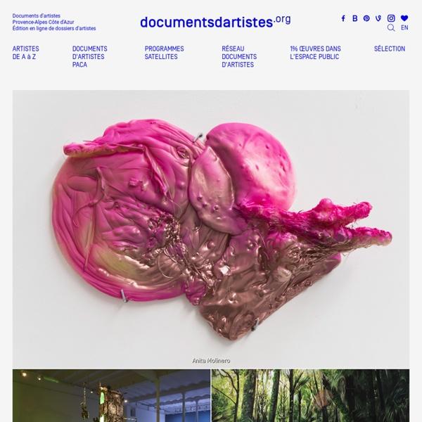 Documents d'Artistes