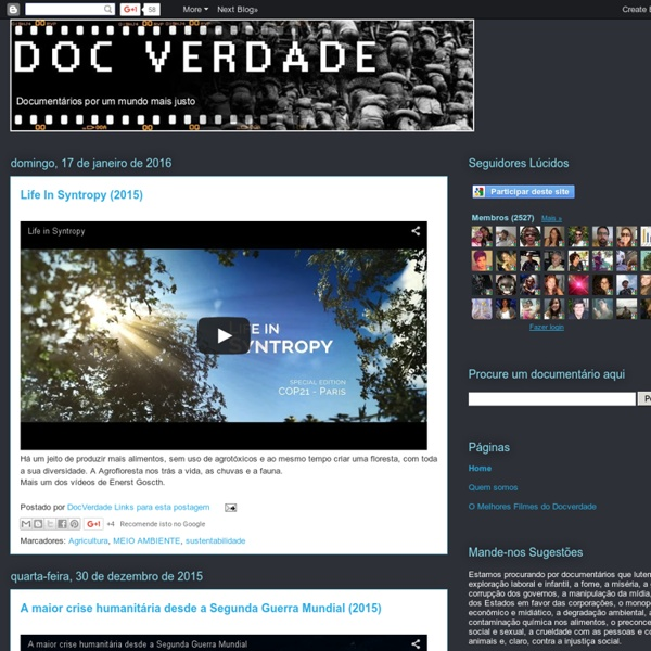 DOCVERDADE - Documentários