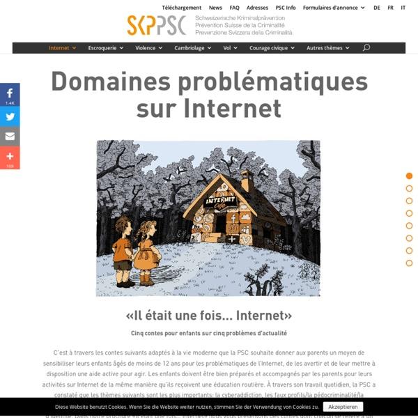 Domaines problématiques sur Internet