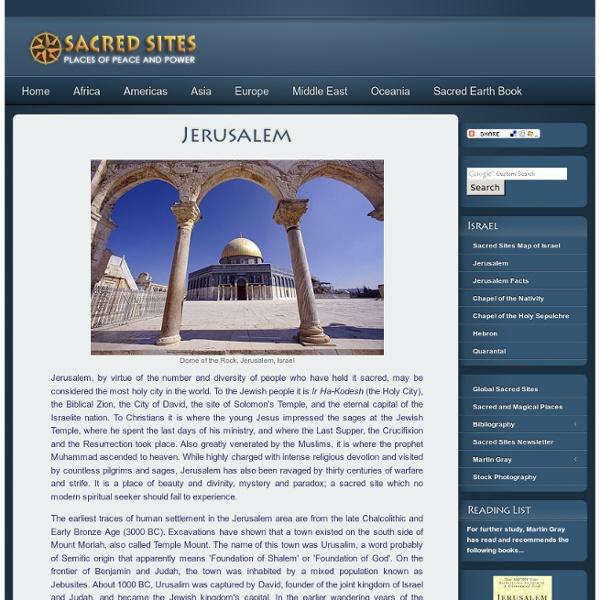 - Jerusalem