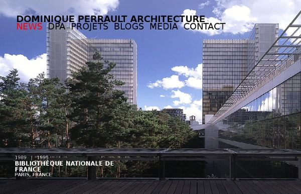 Dominique Perrault Architecture - homepage