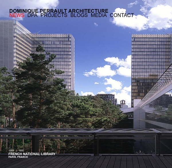 Dominique perrault architecture agence internationale d for Agence architecture urbanisme