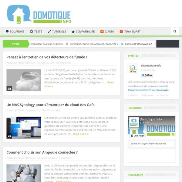 Le Web Magazine Domotique...