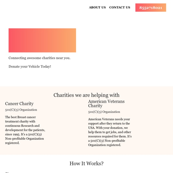 Donateers - We Locate The Best charities To Donate to in Your City