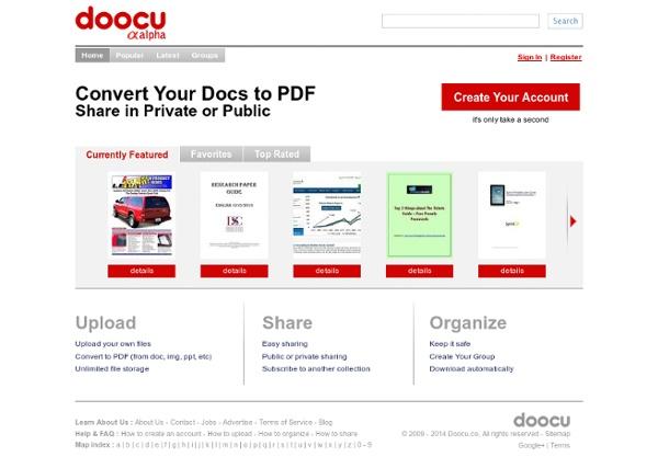 Doocu.com - Free PDF File Sharing