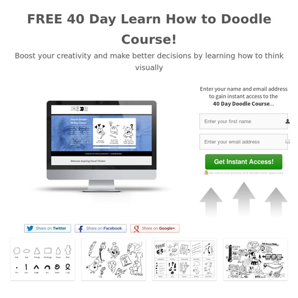 Doodling Course Registration — Join the Free 40 Day How to Doodle Course