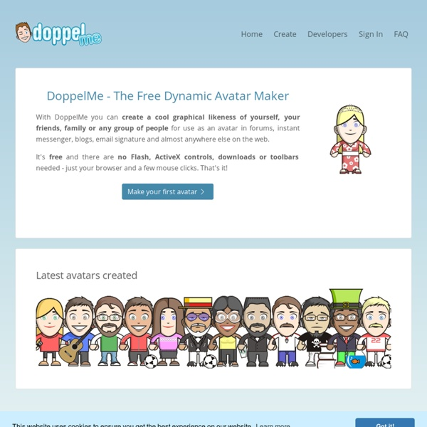 DoppelMe - Free Dynamic Avatars