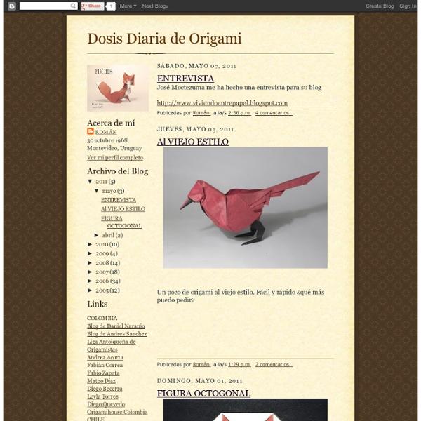 Dosis Diaria de Origami