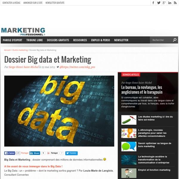 Dossier Big data et Marketing