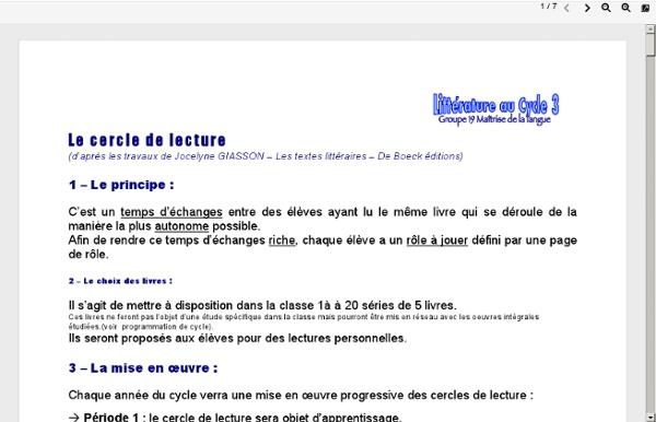 Tcdsbstaff.ednet.ns.ca/asaulnier/Francais 10F Immersion/DossierLitteratureC3.6.pdf