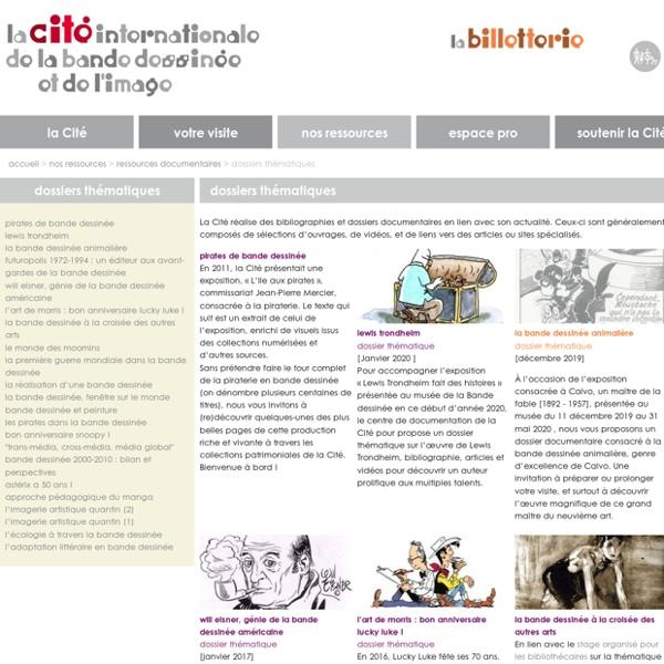 CIBD : Dossiers thématiques