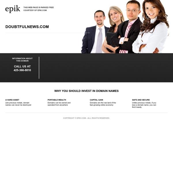 Doubtful News