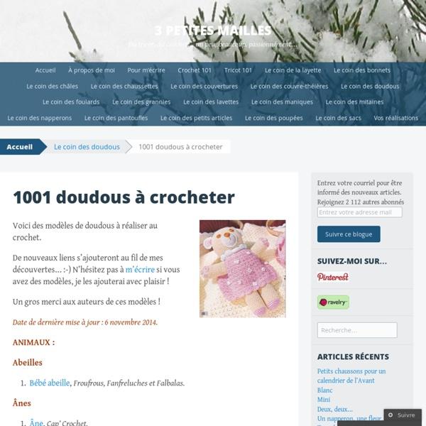 1001 doudous à crocheter