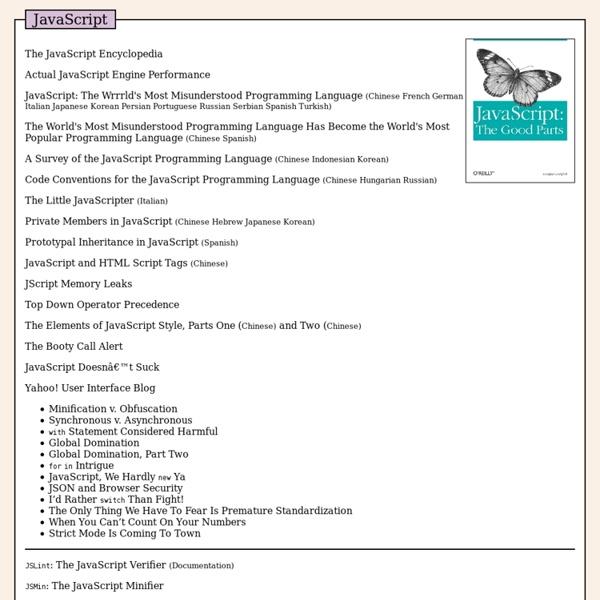Douglas Crockford's Javascript