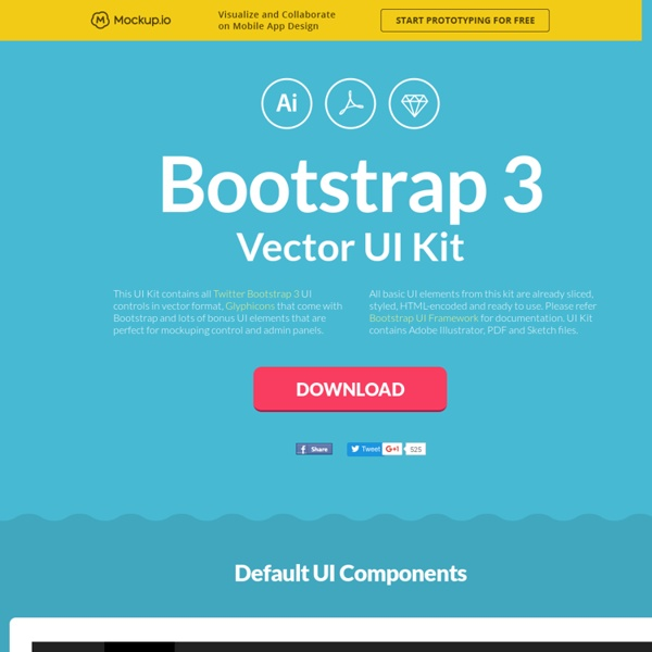 Download Bootstrap 3 UI Kit