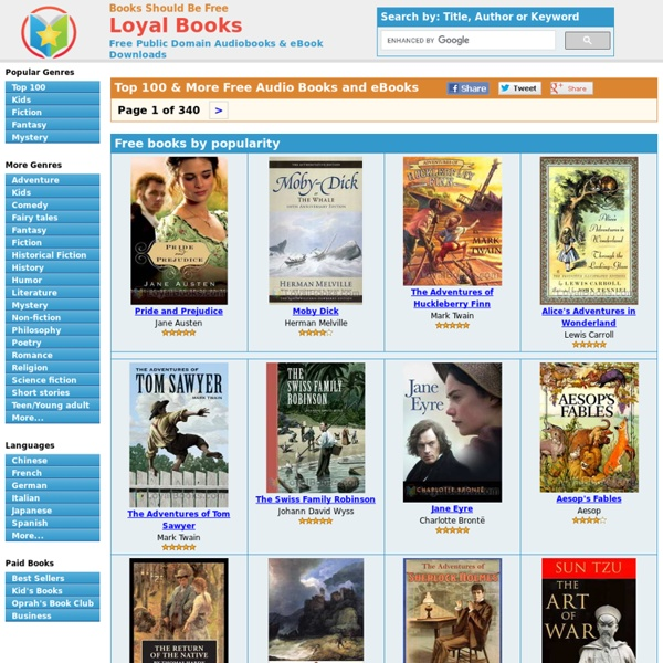 Top 100 Free Audio Books - Download Mp3 and iPod format today!