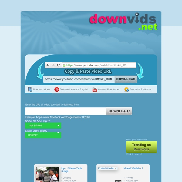 Download Facebook, Youtube Videos