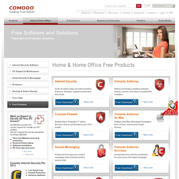 Free Protection, Virus Free Protection Software, Free Protection Downloads - Comodo