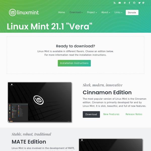 Download - Linux Mint