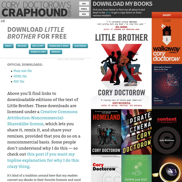 Download Little Brother For Free