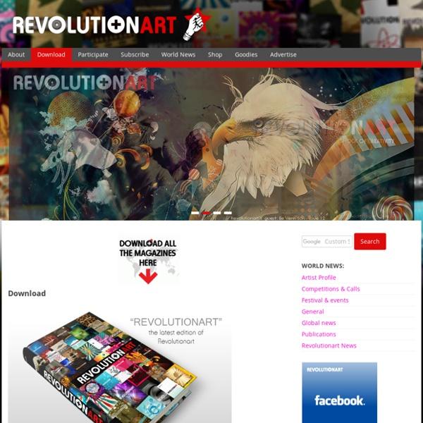 REVOLUTIONART MAGAZINE - Download free Art & Design Magazines