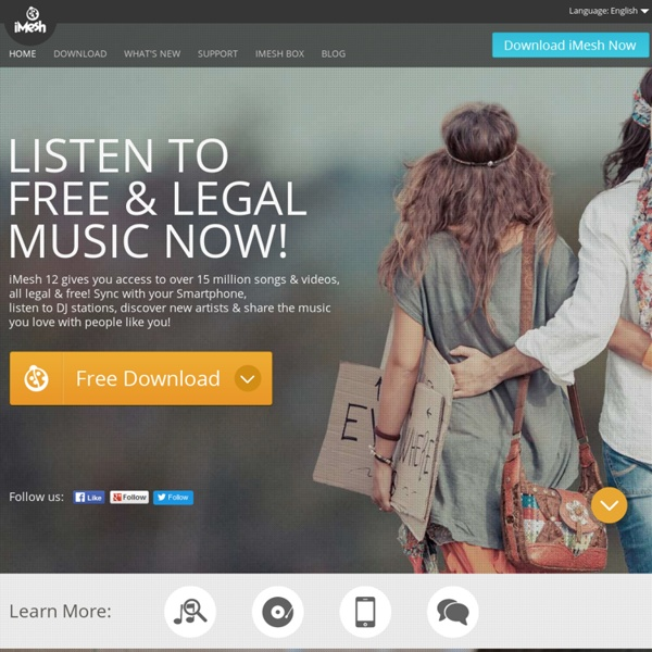 Download Free Songs - Free iPod Music Downloads - Top Songs - iMesh.com Music