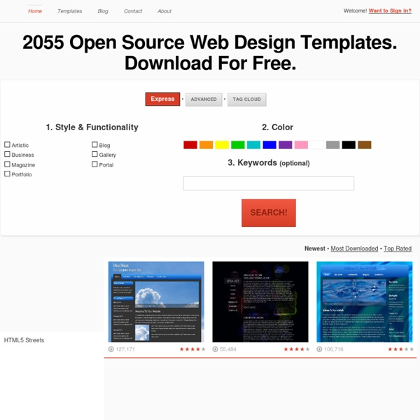 Open Design Community - Download Free Web Design Templates - OpenDesigns.org