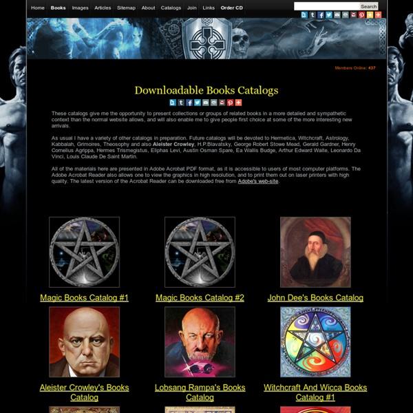 Magic Books, Occult Books, Esoteric, Ancient, Rare Books And Texts. Grimoires, Spellbooks, Manuscripts