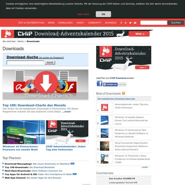 Anti-Spyware - Programme - Download CHIP.eu