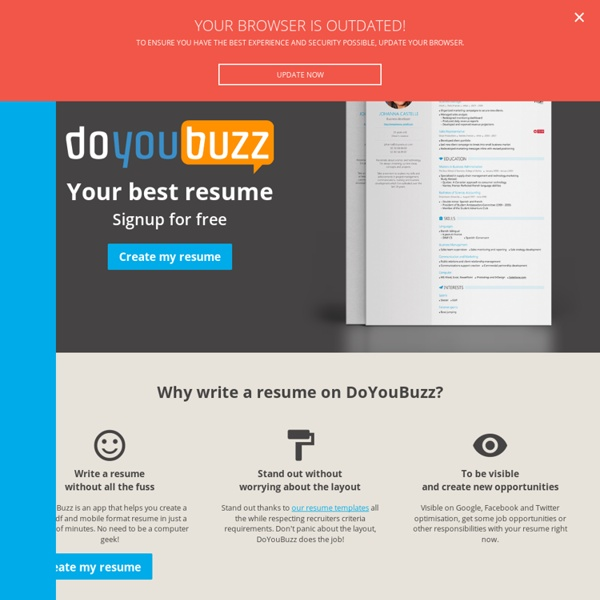 the next generation online resume