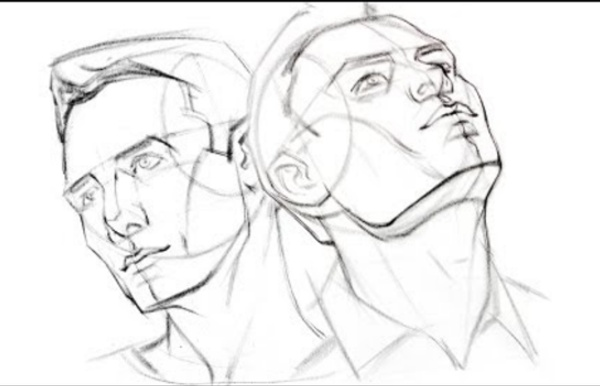 How to Draw the Head from Extreme Angles