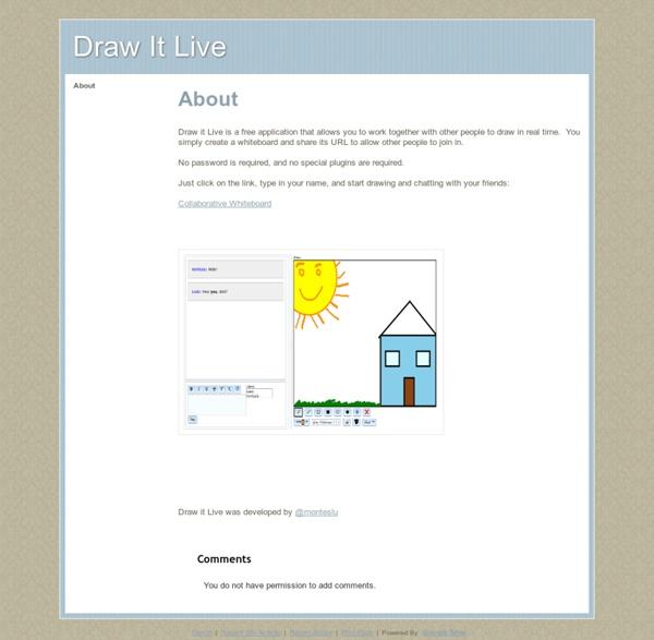 Draw It Live