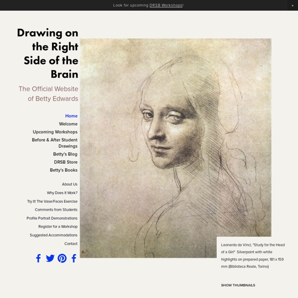 Learn to Draw: Drawing on the Right Side of the Brain.