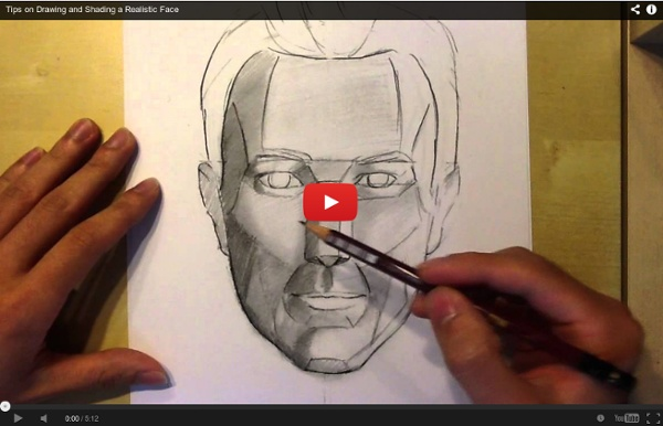 Tips on Drawing and Shading a Realistic Face