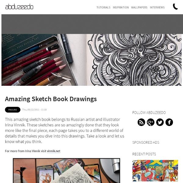 Amazing Sketch Book Drawings