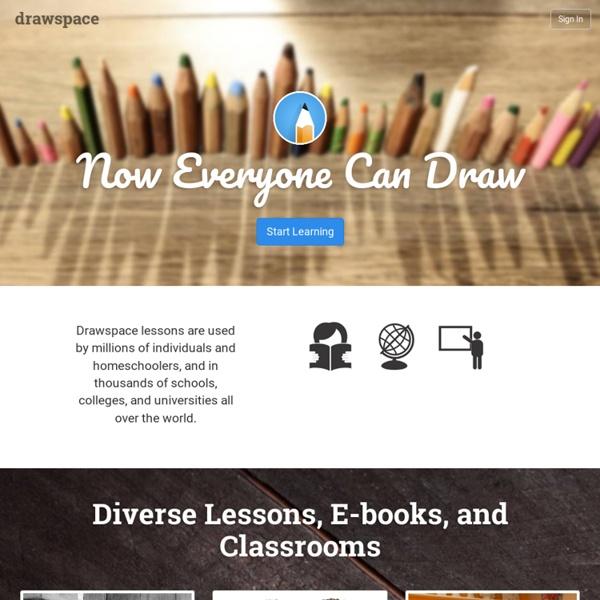 Drawspace.com - Learn to draw