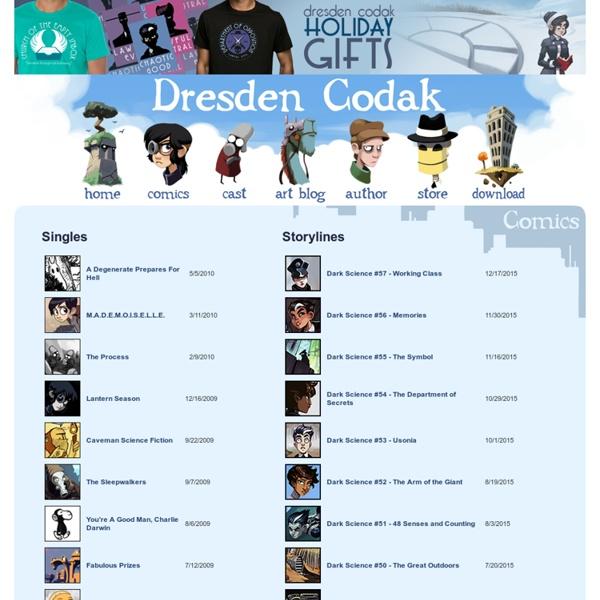 Dresden Codak » Comics