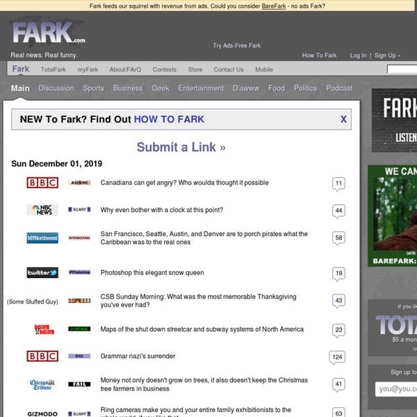 Drew Curtis' FARK.com