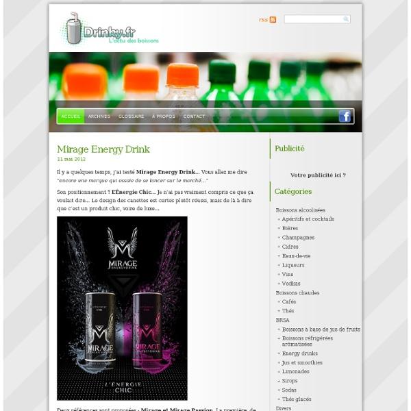 Drinky.fr - Le blog des boissons