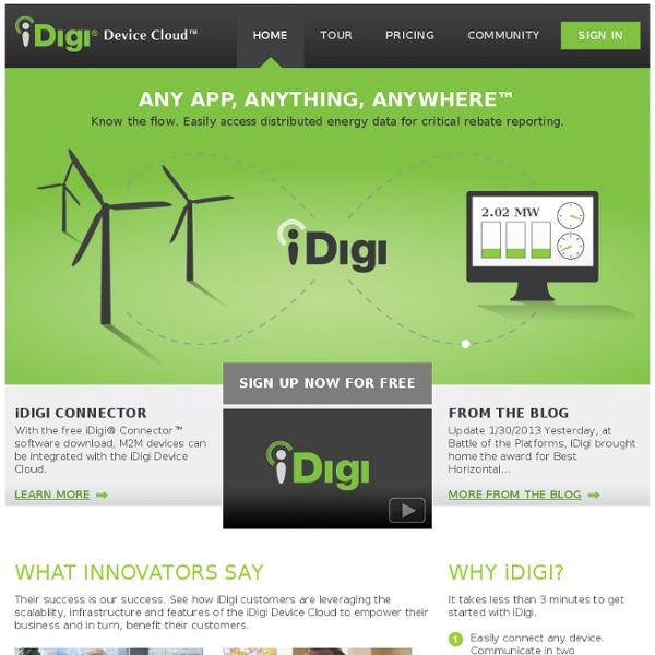 iDigi Device Cloud