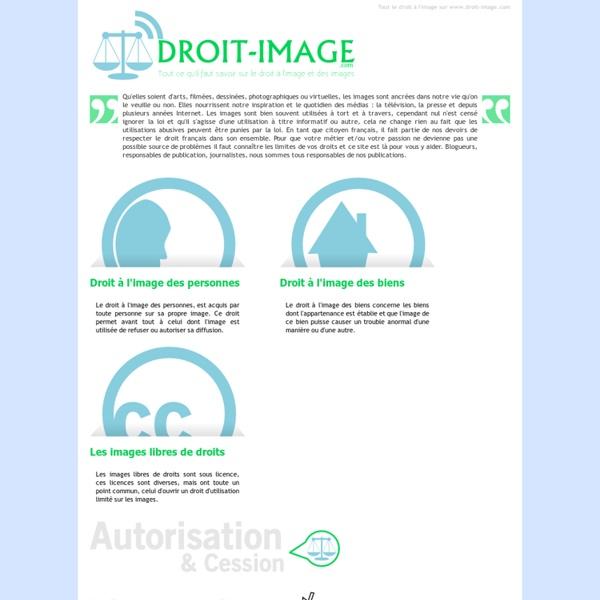 Droit à l'image : Tout ce qu'il faut savoir est sur Droit-image.com