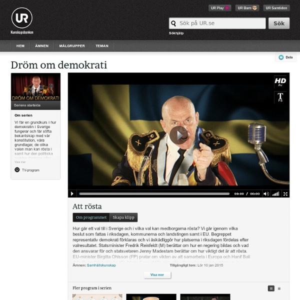 Dröm om demokrati: Att rösta