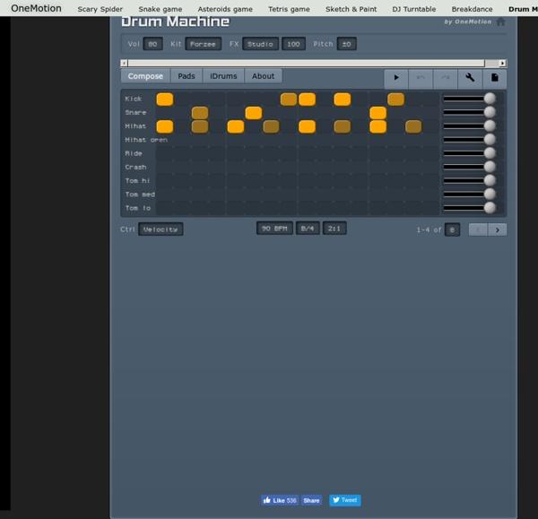 Drum Machine - Play Free Online Games