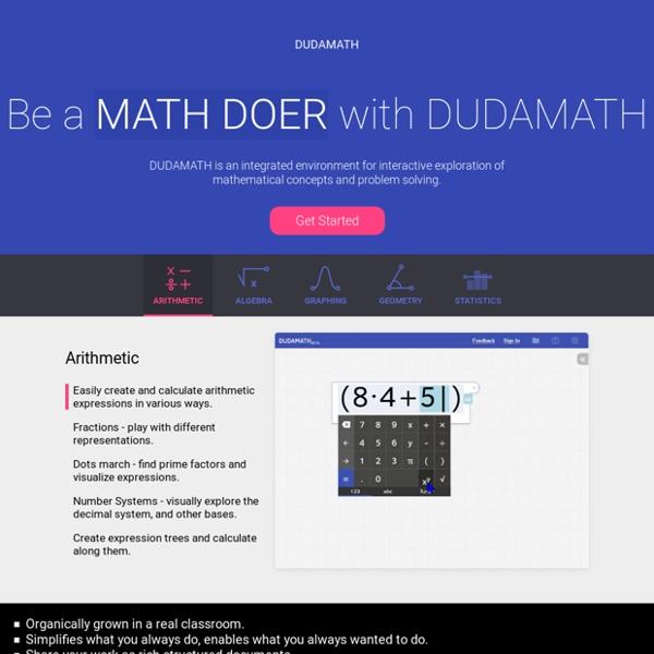 Dudamath - Math in the making