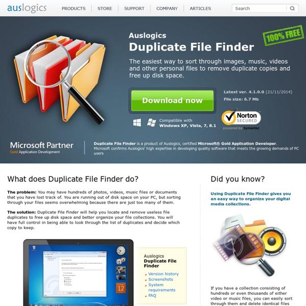 Duplicate File Fi