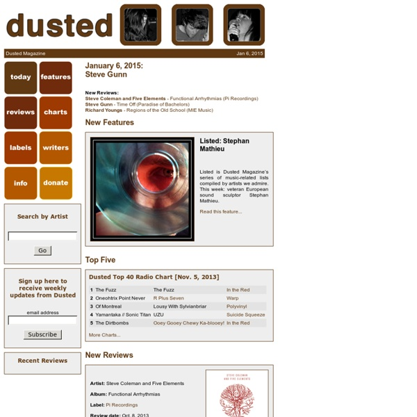 Dusted Magazine *****